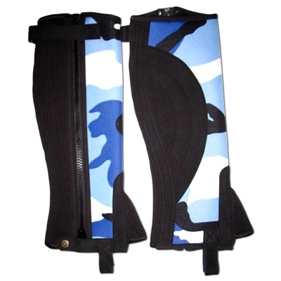 High Quality Washable Neoprene Horse Riding Half Chaps For Universal