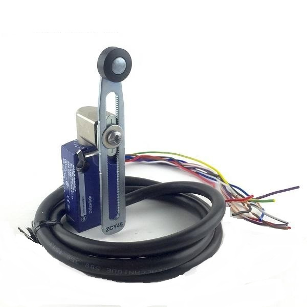 Telemecanique XCKM OsiSense XC Standard Limit Switch Three Cable Entries Plastic Roller Lever 1 NO and 1 NC Snap-Action Contacts