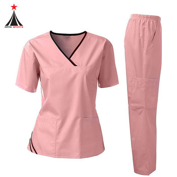 Good Price Wholesale Factory High Quality Nurse Uniform Hospital Scrubs Medical Uniform