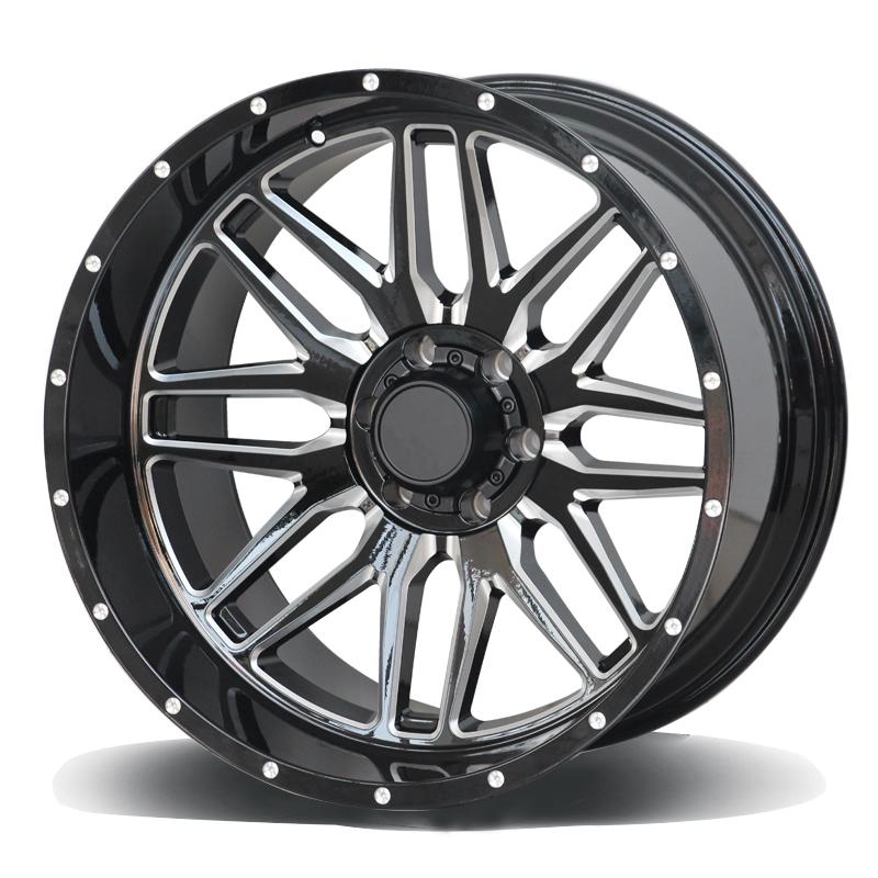 Offroad wheels light truck rims,18 20 22 inch 5X114.3 5X139.7 5X130 5X150 6X139.7 alloy wheels