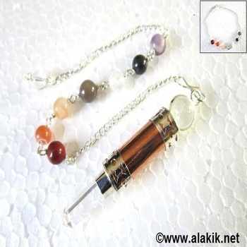 Copper Chakra Pendulum for Sale