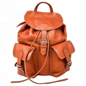brands genuine leather cute bagpack bags ladies back pack leather laptop bag