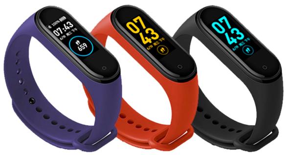 Hottest m4 smart fitness tracker wrist watch m4 smart band sport