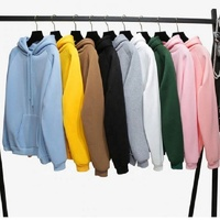 OEM and ODM 100% Cotton Plain Hoodie Oversize Pullover Hoodies