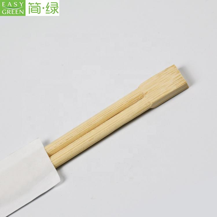 Facile da Verde vendita calda riutilizzabile rotondo all'ingrosso bacchette di bambù e getta