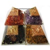 Assorted Mix Crystals Orgone Pyramids With Crystal Pencil