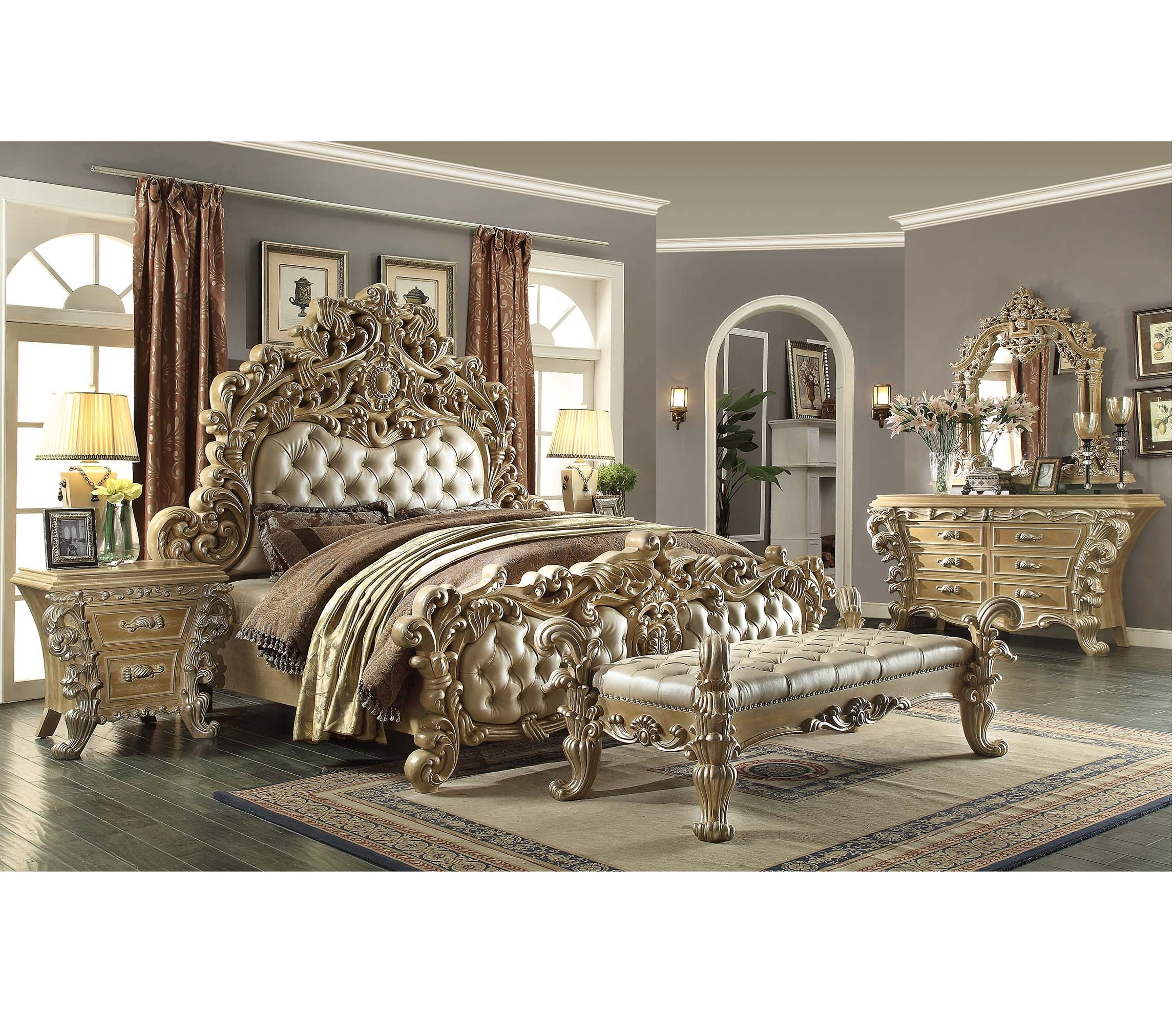 Luxury Bedroom Furniture Sets Victorian Style Furniture For