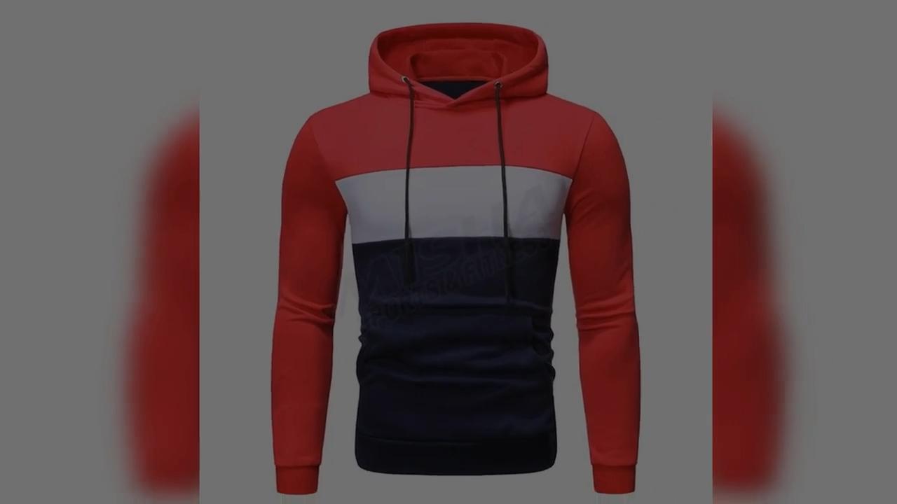 Gym Wear Athletic Sport Hoodies / Blank Zip Up Gym Hoodie For Men