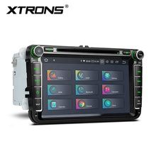 Xtrons Android 10.0 <span class=keywords><strong>Auto</strong></span> Dvd-<span class=keywords><strong>speler</strong></span> Voor Volkswagen Jetta Passat B6 Polo Tiguan, Dubbel Din <span class=keywords><strong>Auto</strong></span> Stereo Met Bluetooth