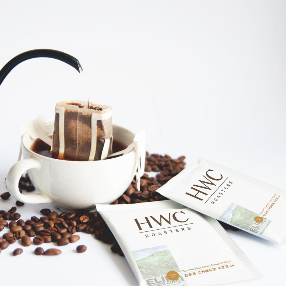 Panama Elida Catuai Natural Premium Quality Arabica Hanging Ear Drip Coffee Ground Coffee OEM Wholesale