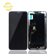 Mais novo TFT lcds do telefone móvel para o iphone XS MAX Lcd Screen Display Toque Digitador Assembléia Para o iphone XS MAX lcd tela