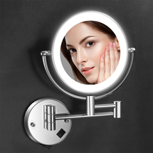 Nieuwkomers Hollywood Stijl Vanity Smart Ronde Led Make-Up <span class=keywords><strong>Spiegel</strong></span>
