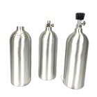 TPED 2L aluminum alloy co2 cylinder Aquarium Co2 tank with w21.8 on/off valve
