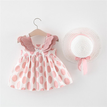 Summer Baby Girl Dress 2 Years Girl Frocks Bear Pattern Leisure Dress