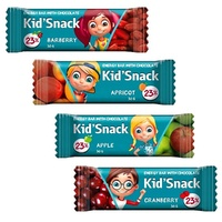 Energy bars Kid'Snack 30g kids healthy food organic nutrition oat muesli bag corn flakes cereal bars for children