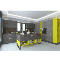 Natural Stone Design Kitchen Cabinet