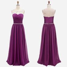 Bbonlinedress, платье для выпускного вечера, шифоновое ТРАПЕЦИЕВИДНОЕ длинное строгие вечерние платья с кристаллами и бусинами, Недорогое Платье(Китай)