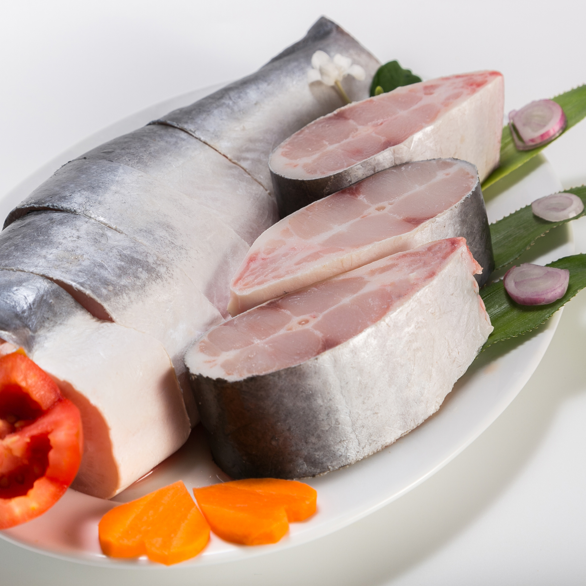 NON-PHOSPHATE Additives Of Pangasius Frozen Type Steak tail on Best Quality From Vietnam