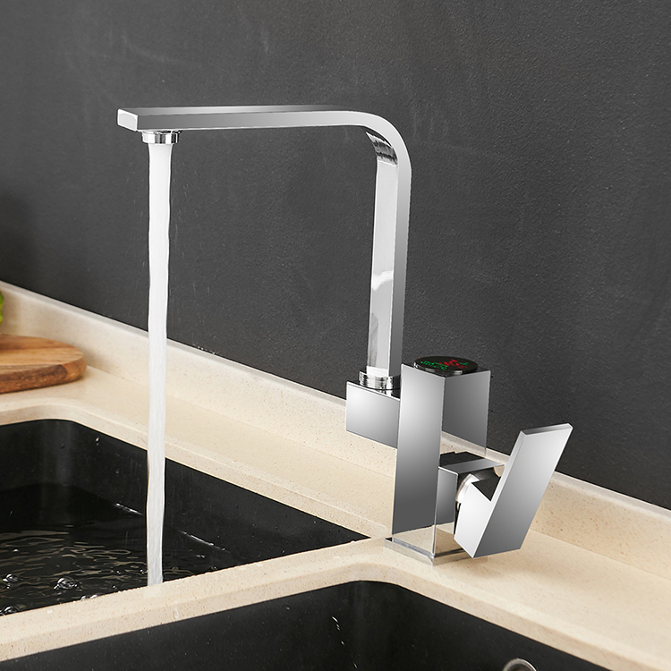 866023 <strong>Kitchen</strong> <strong>Faucet</strong> Digital torneira para cozinha Water Power Sink Mixer Brass Chrome Temperate Display <strong>Faucet</strong> Smart Tap