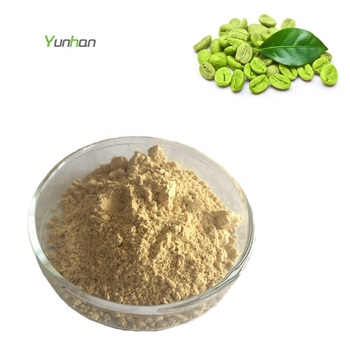 Buy Best Organic Green Coffee Bean Extract Chlorogenic Acid Powder for Weight Loss