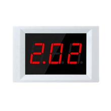 Taidacent XH-B202 <span class=keywords><strong>Digital</strong></span> DC Ammeter <span class=keywords><strong>Digital</strong></span> Ampere Meter Power Supply DC6-30V Pengukuran 0-12A PANEL MOUNT DC Amp Meter