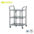 Ready to Ship Taiwan Manufacturer Home Foldable Folding Kitchen Serving Storage Trolley Cart