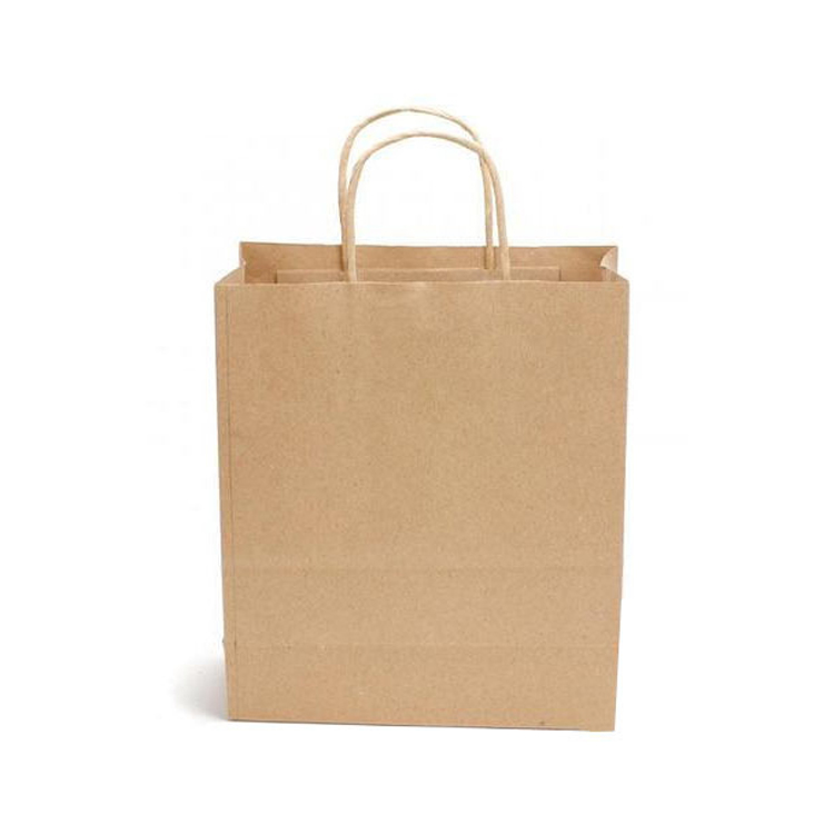 Superior Quality Widely Used Kraft Paper Packaging Bag with Rope Handle