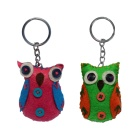 Lucky Owls Key Ring multi-color