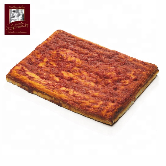 725 g Red Italian Frozen Pizza base 30x40cm Giuseppe Verdi Selection Pizza made in Italy