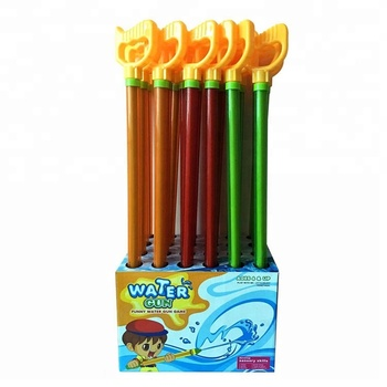 Water Gun Game 65CM Lucency Shooter Gun Summer Toy with Handle