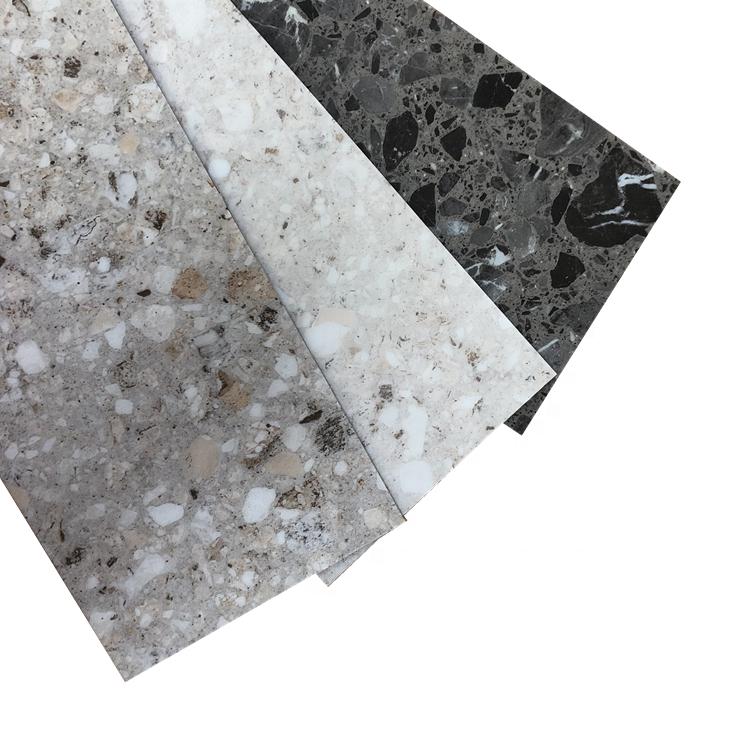 Vinyl adhesive waterproof anti slip SPC Plank Flooring Luxury Vinyl Flooring pvc roof floor tile like bamboo