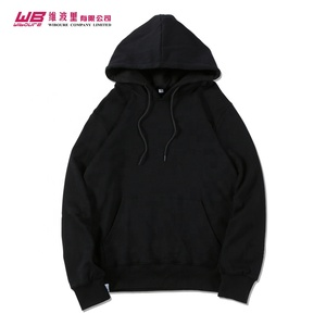 2019 Latest Design China Factory costom made sweatshirt Custom Solid Color Blank Oversized Plain cotton Hoodie foe men