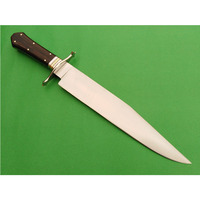 17 inches fixed blade d2 steel hunting survival bowie knife .