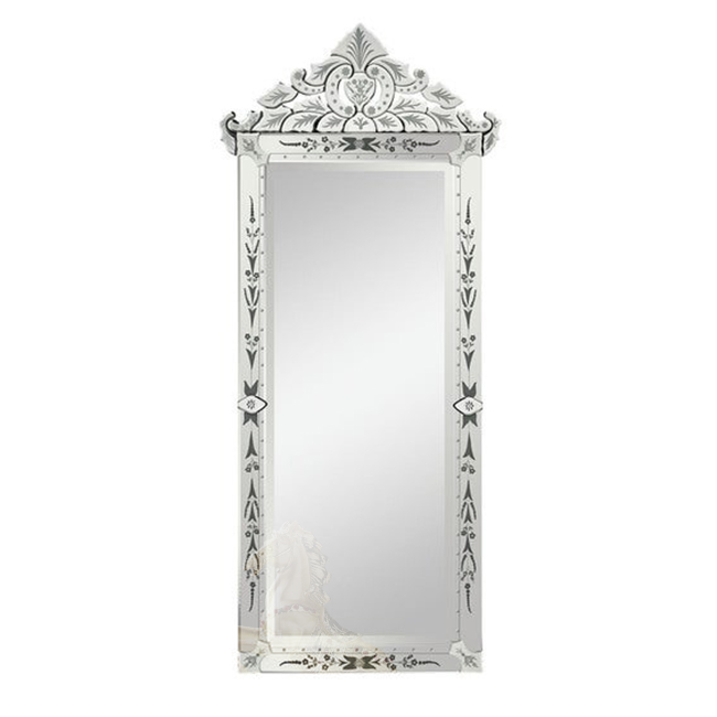 Venetian Wall Mirror Long Stand