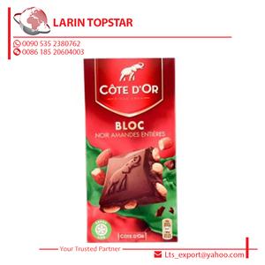 Cote Dor Bloc Dark Almonds Chocolate 180g Tablet
