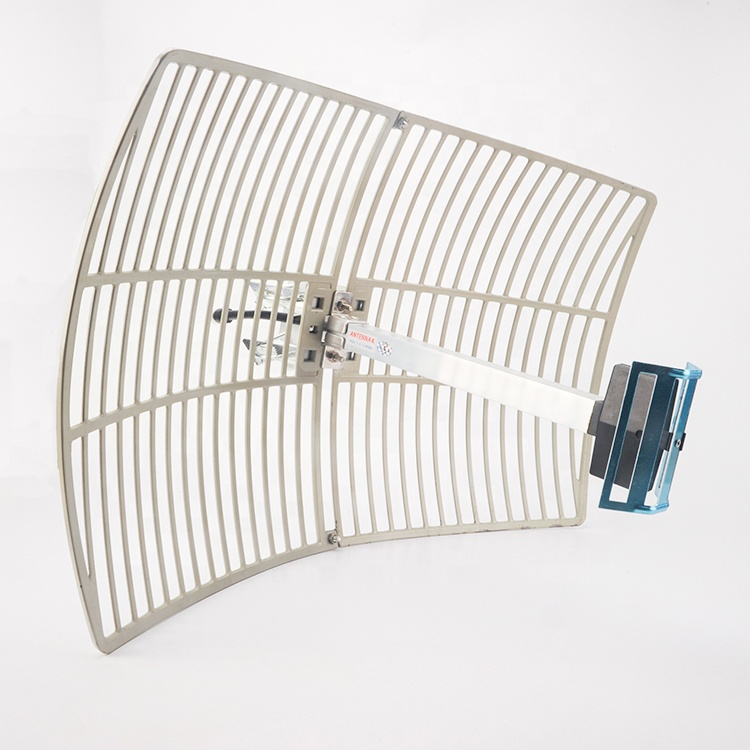 Long Range 24dBi 5.8GHz WIFI Outdoor Directional Grid Parabolic <strong>Antenna</strong>