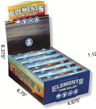 Elements Ultra Thin Rice Rolling Papers - King Size Roller 110mm Rolling Machine