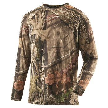 Mens Custom Your Own Logo Hunting Apparel Long Sleeve Tactical Shooting Hunting T Shirts