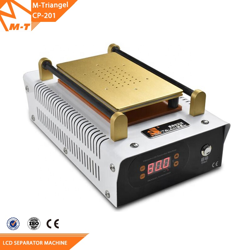 Build-in Vacuum Glass LCD Screen Separator machine + Frame Remover + Preheater Station for IPhone
