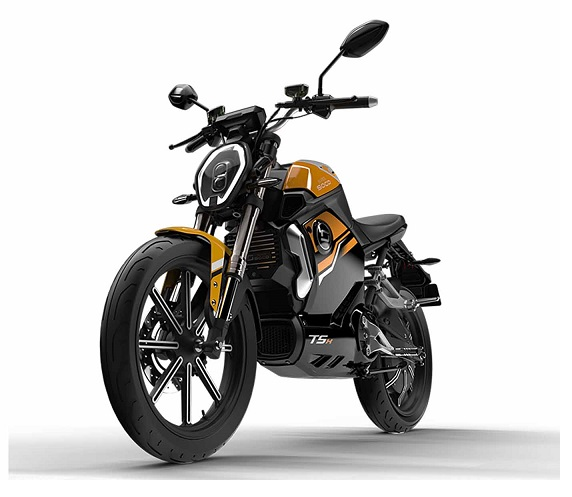 Fairly Used Super Soco TC Max Electric Motorcycle