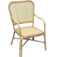 Wholesale vintage natural rattan chair indoor