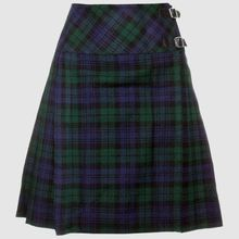 Ladies Black Watch Tartan short kilt