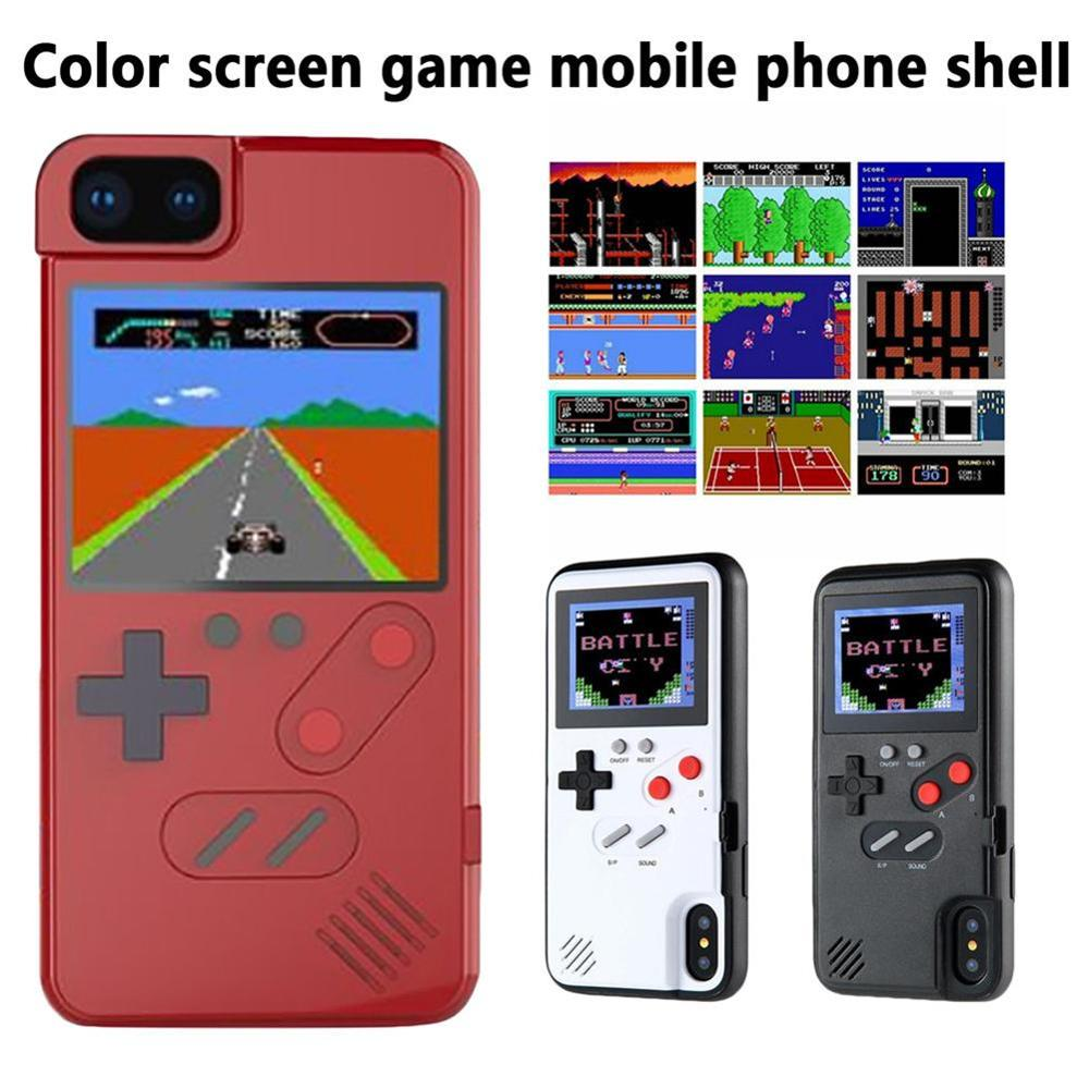 Phone Case For Color Screen Game Console Player Compatible With iPhone 5 iPhone 4 Apple Handheld Classics Accessories