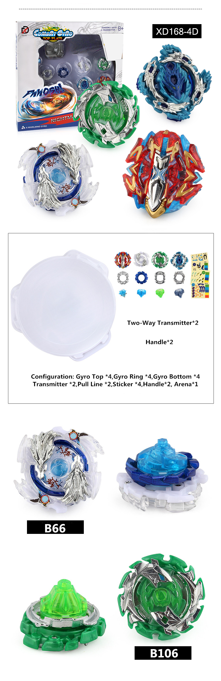 Mini Spinning Top Toys Beyblades Burst Sets Bayblade
