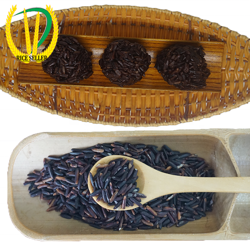 Woww Hot I Sales Round Glutinous Rice High Quality For Export - Vietnam black glutinous rice