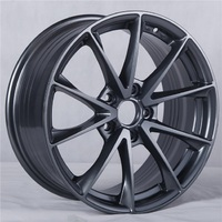 Hot sale factory direct car wheel design aluminum alloy wheels sport rim with best quality