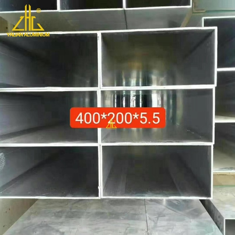 6061 Mill Finished Decorative Square Aluminium Pipe and Hanging Ceiling Rectangular Aluminum Tube with Any Size