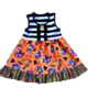 2019 new style baby girls halloween prints mouse boutique stripe kids dresses