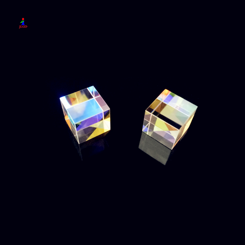 Hot Sale Custom crystal cube glass X-Cube prism
