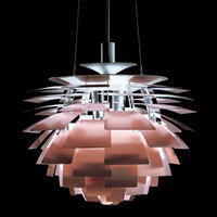 Nordic Aluminum Pine Cone Shape Creative Pendant Light Hanging Lamp for home decorations